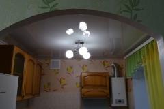 Устройство арки. Вход на кухню.