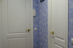 Установка дверей под окраску.