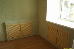 Закрытые радиаторы теперь не портят вид комнаты.