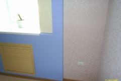 Элемент декора скрывающий стояки отопления и радиатор.