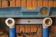 Контроль установки точек водоразбора.