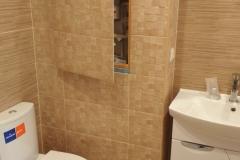 Люк скрытого типа для доступа к системе водопровода.