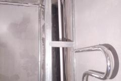 Устройство короба для скрытия стояков канализации и водопровода.