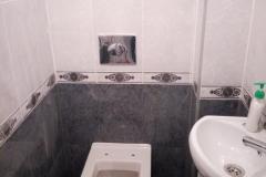 Туалет после ремонта.