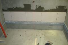 Облицовка стен плиткой. Начало.