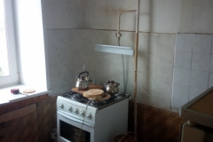 Кухня внутри до ремонта.