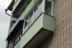 Вид балкона после нашего вмешательства