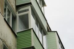 Остекление балкона и отделка под ключ