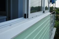 Остекление и наружная отделка балкона