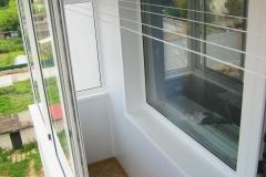 Внутрення отделка на балконе