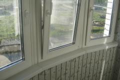 Остекление нестандартных балконов