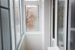 Балкон с внутренней отделкой