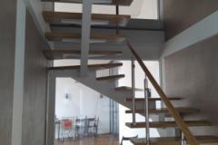 Лестница с разворотом на 180