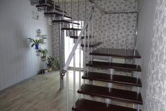 Модульная лестница с площадкой