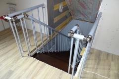 Перила модульной лестницы