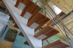Каркас лестницы цельносварной