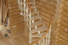 Модульная лестница нестандартной формы