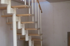 Лестница на модульном каркасе