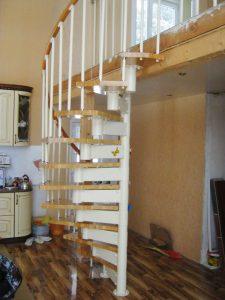 Лестница спиральной формы