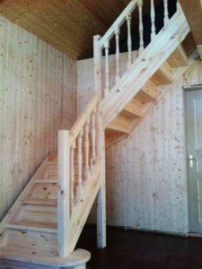 Лестницы из сосны