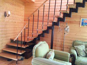 Перила для модульной лестницы
