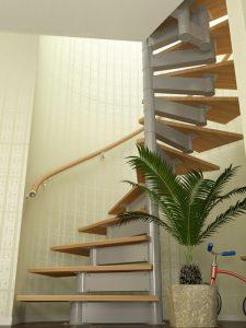 Каркас для винтовой лестницы