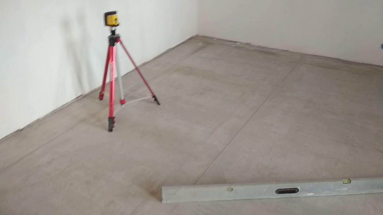 Контроль качества стяжки из цемента
