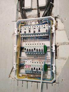 Сборка электрощита в квартире